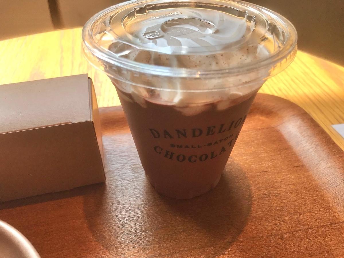 ダンデライオンチョコレート フローズンホットチョコレート