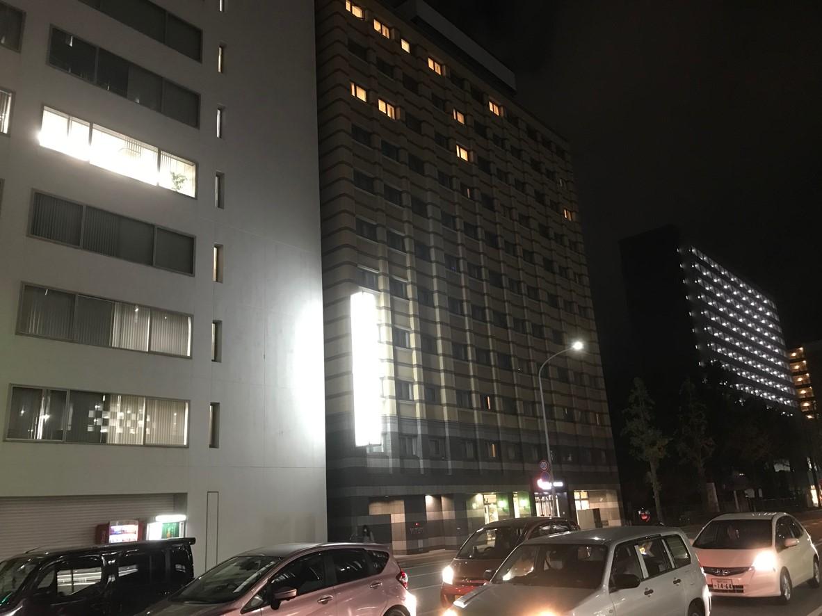 ホテル法華クラブ福岡 外観