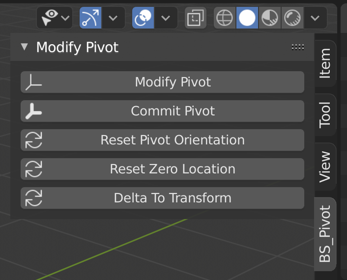 BS - Blender Modify Pivotの解説