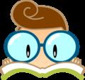 電子ボックサイトのLogoデサイン。Url: www.bookfm.com/