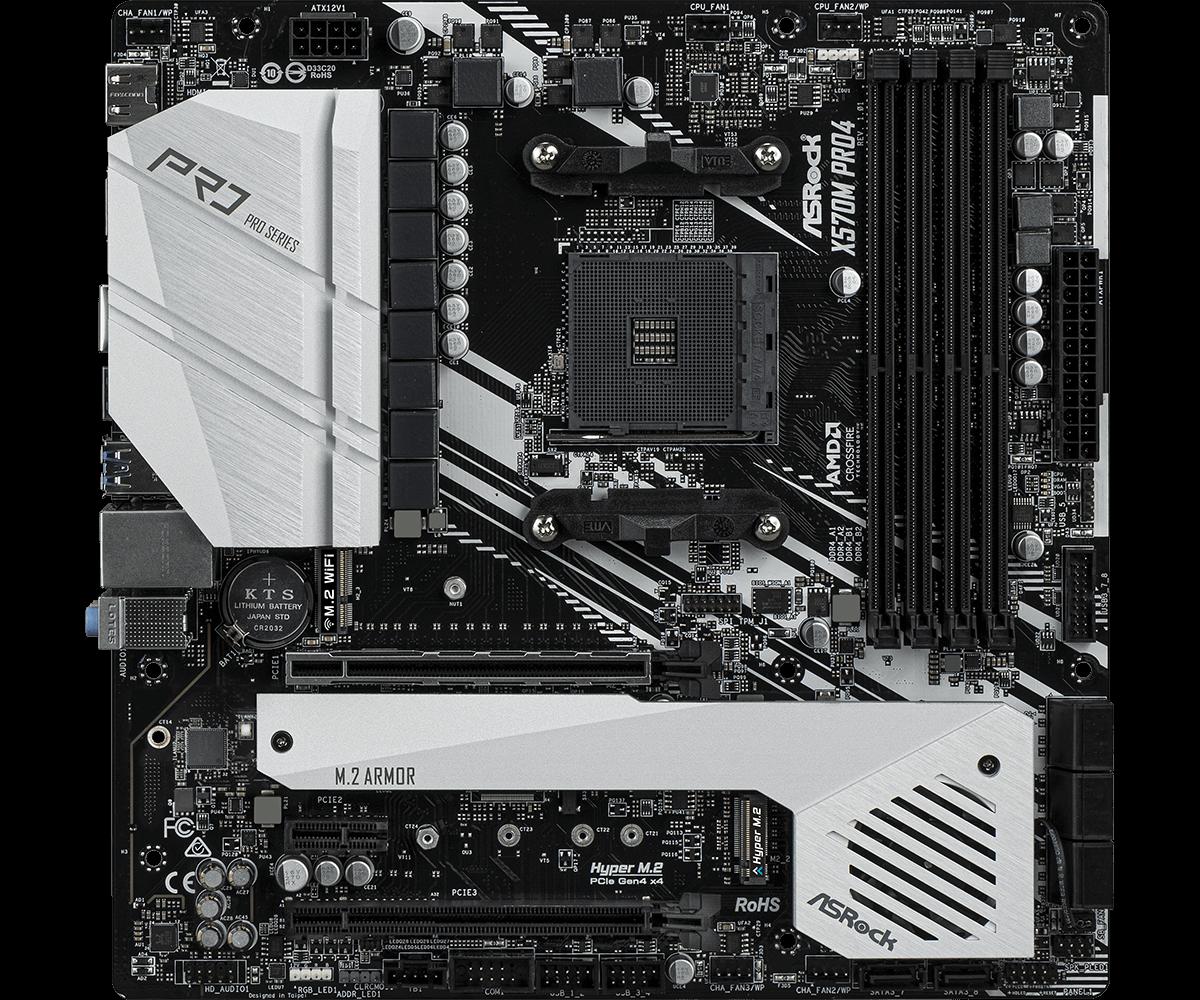 ASRock X570M Pro4