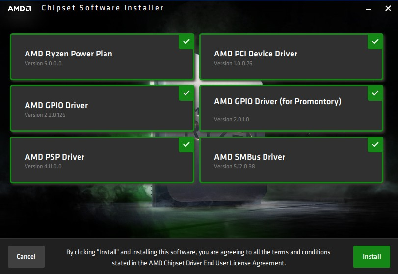 AMD Chipset Drivers 2.03.12.0657