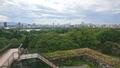 福岡城跡展望