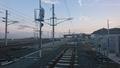 富岡駅線路