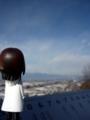 [ピンキーストリート][長野][松本] 松本市城山公園から北アルプスを望む。