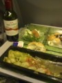 KLM機内食ディナー
