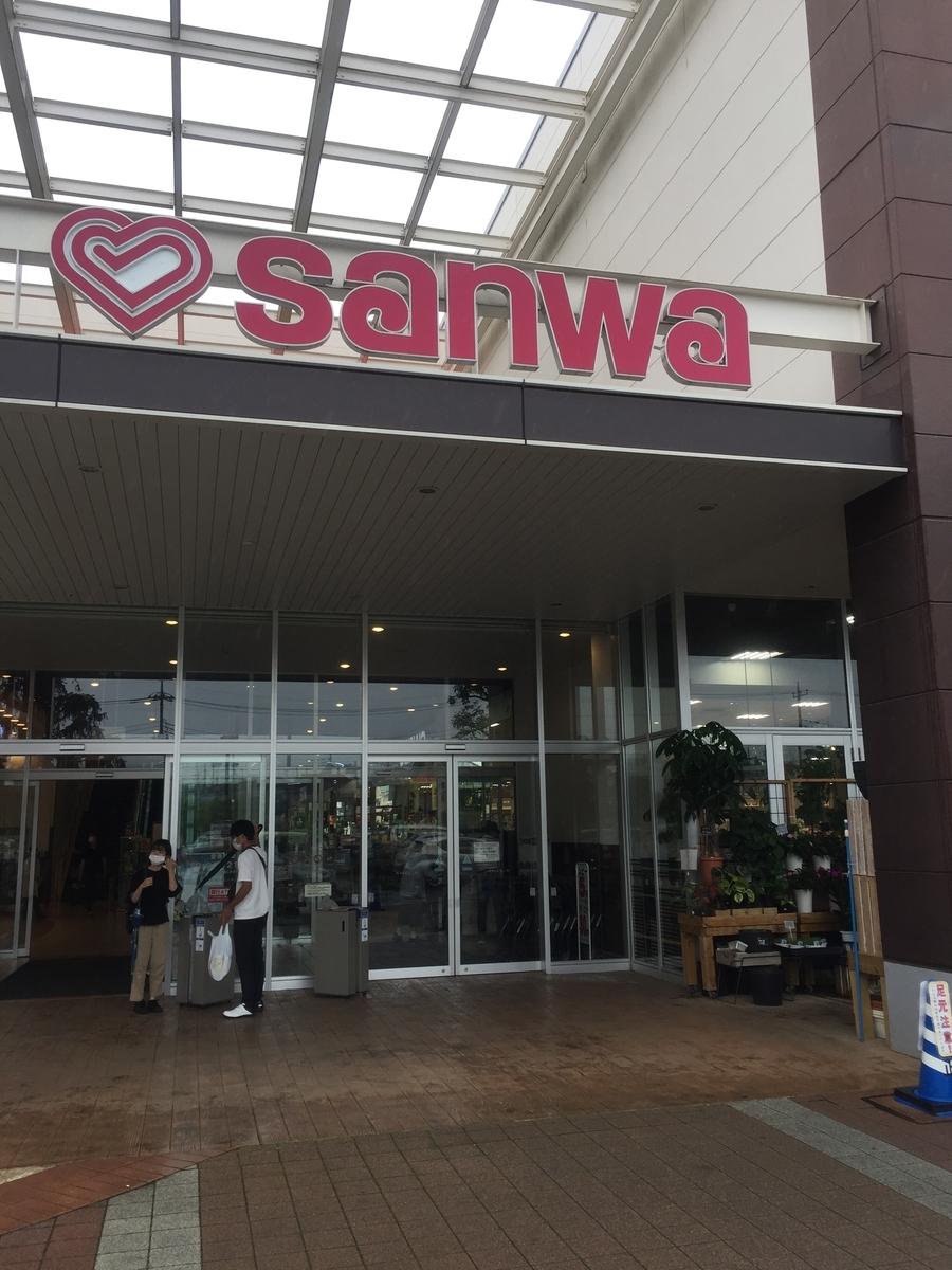 スーパー三和アメリア三和町田根岸店の正面玄関の様子を撮影した写真
