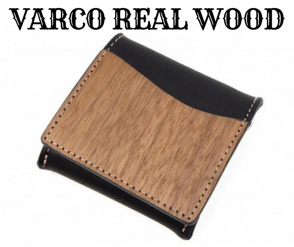 VARCO REAL WOOD 小銭入れ