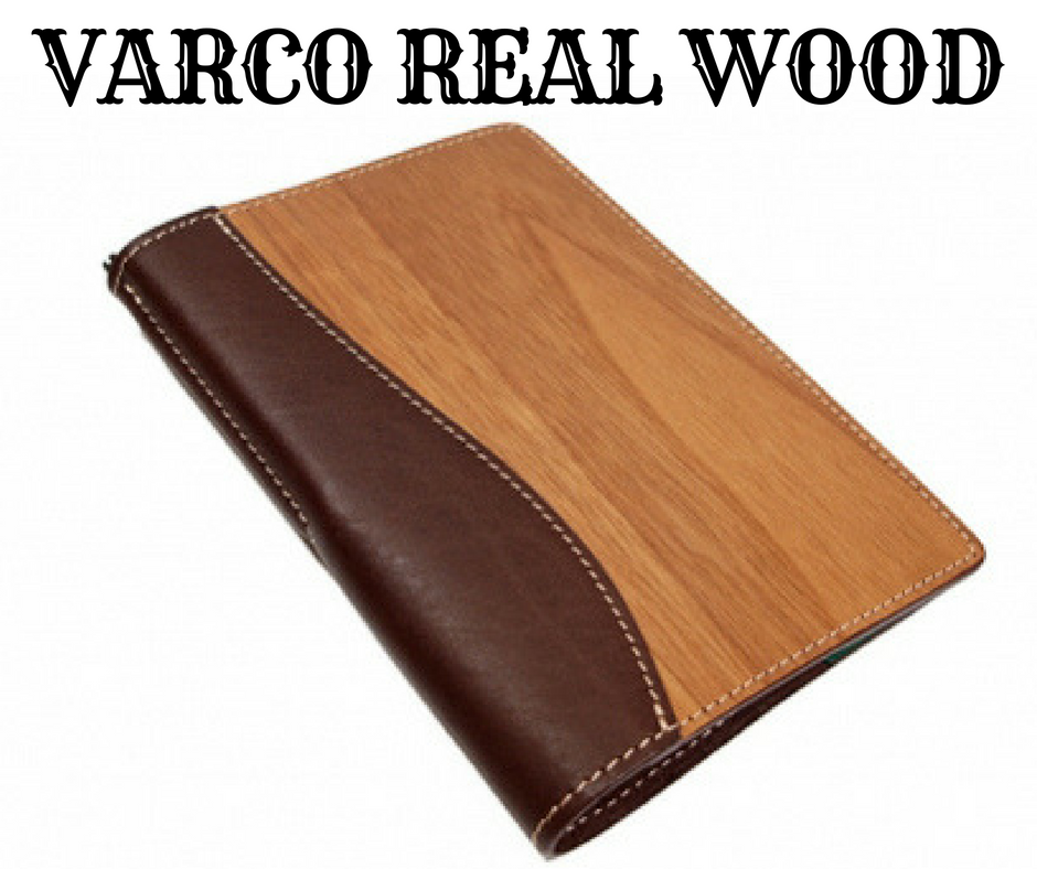 VARCO REAL WOOD ブックカバー