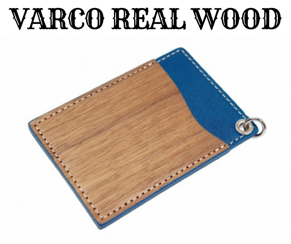 VARCO REAL WOOD パスケース