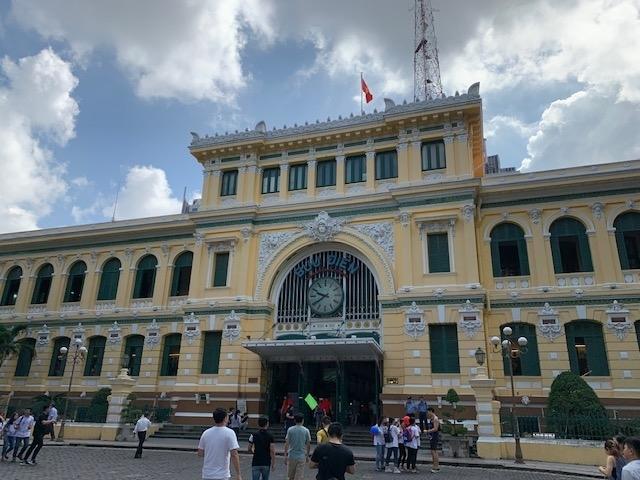 ホーチミン中央郵便局