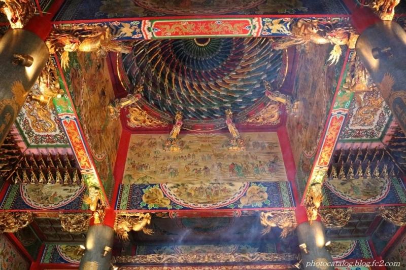 本殿の天井