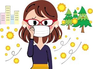 花粉症対策 花粉メガネ