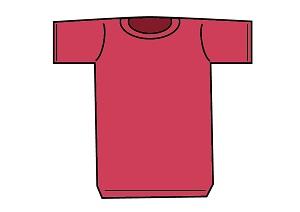 赤のTシャツ