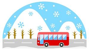 スキー旅行 バス