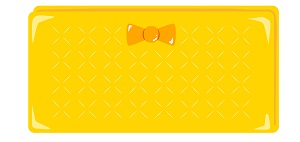 黄色(金色)の財布
