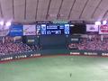 楽天x巨人@東京ドーム
