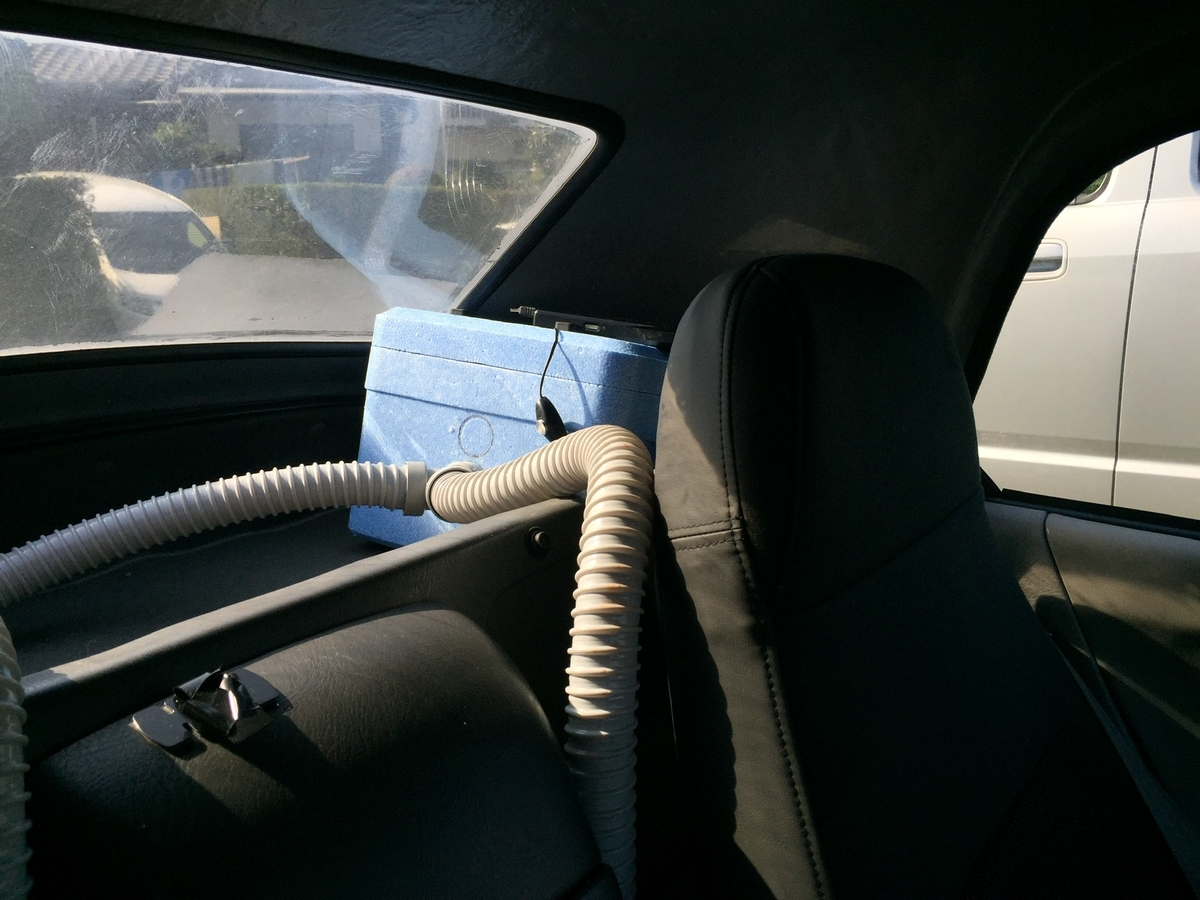 車のクーラーDIY①