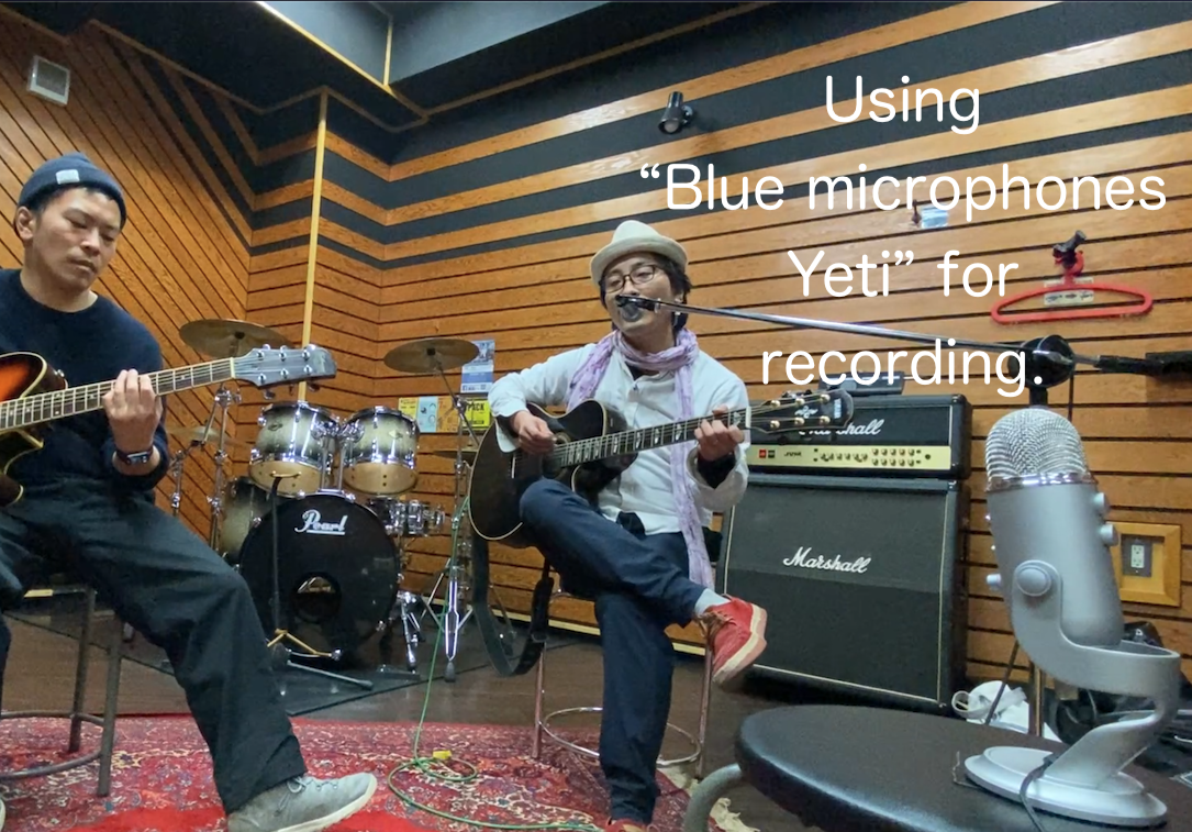Blue microphones Yeti + iPhone11