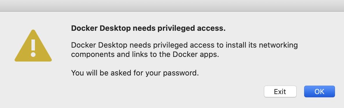 """""""Docker を起動していきます。アプリケーションに登録された Docker のアイコンをダブルクリックします。"""""""