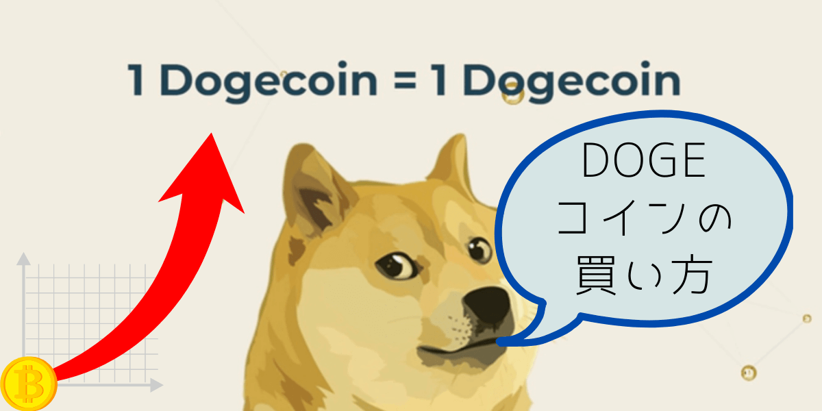 """""""Dogeコインの買い方"""""""