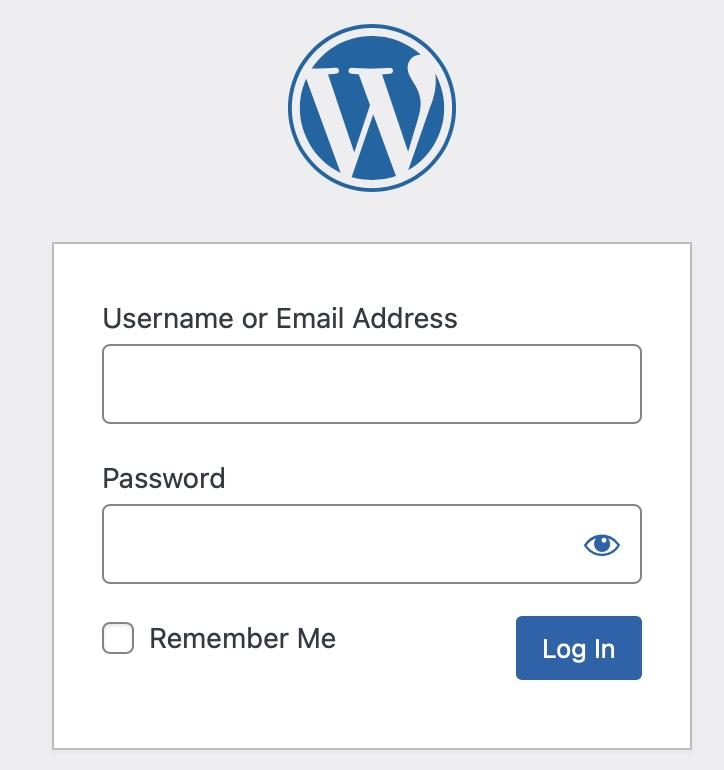 """AWS lightsail wordpress ログイン画面"""