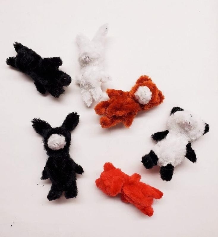 手芸用モールでウサギとクマとパンダを手作り【ハンドメイド】