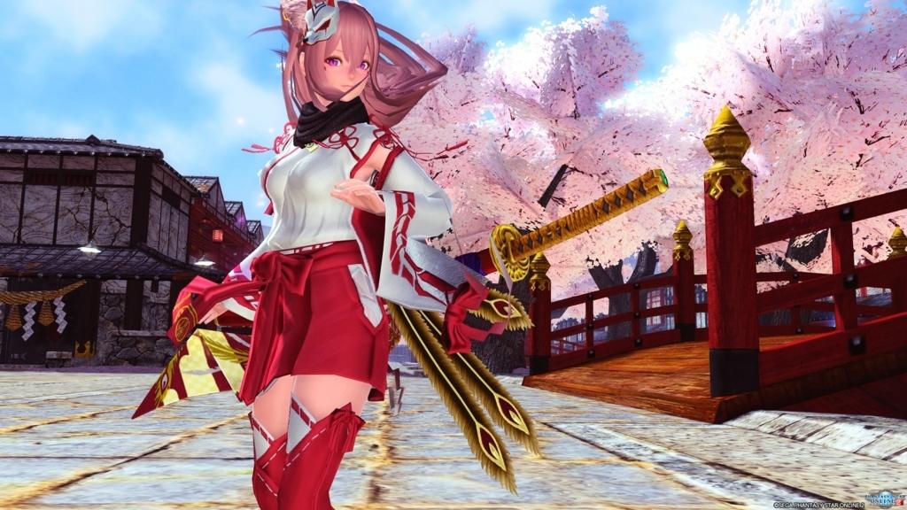 PSO2 りあ 八重桜