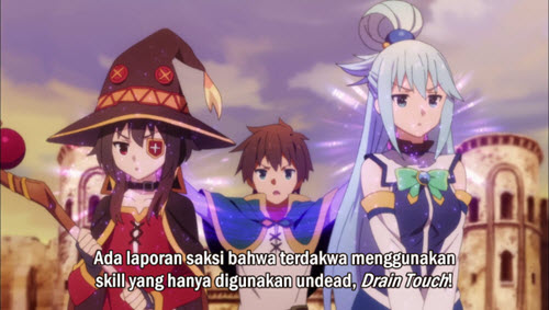 KonoSuba Season 2 Episode 01 Subtitle Bahasa Indonesia