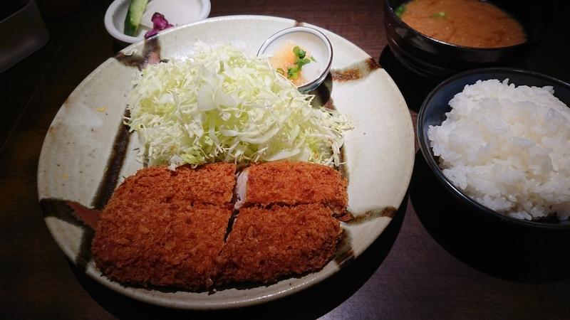Bランチ-ヒレカツ定食-1300円