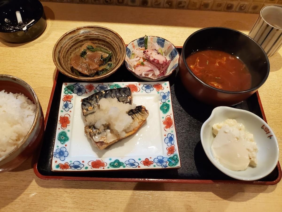 焼きサバ,ランチ,新栄
