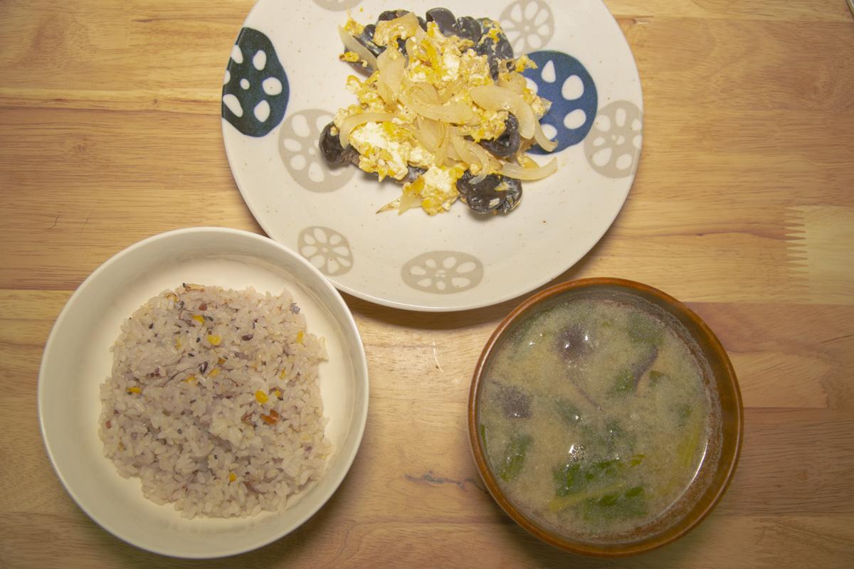 健康な朝食