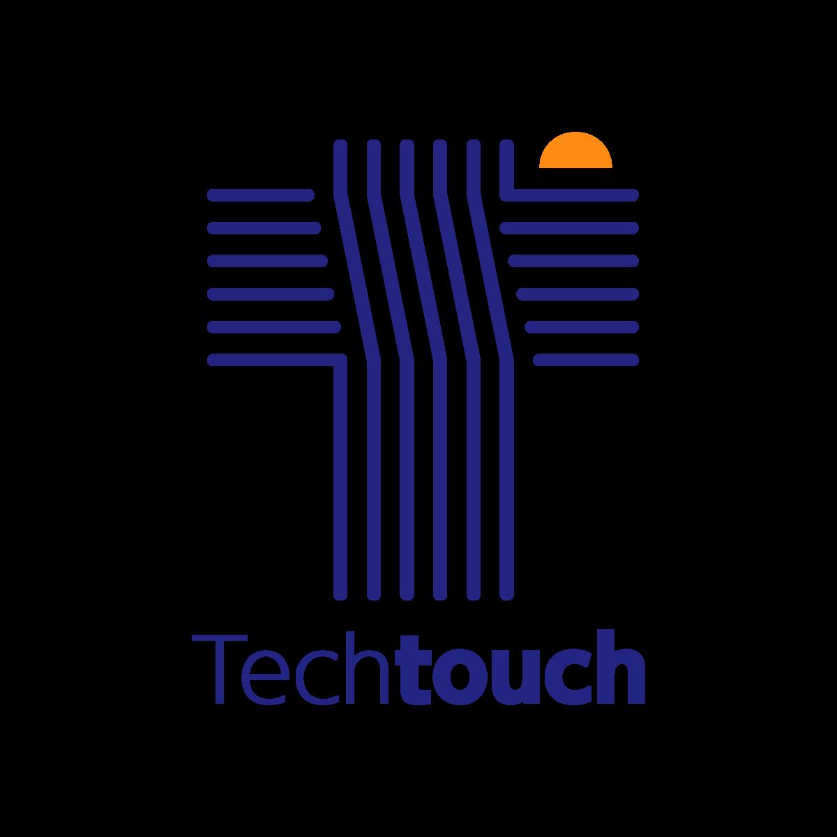 初代のテックタッチロゴ