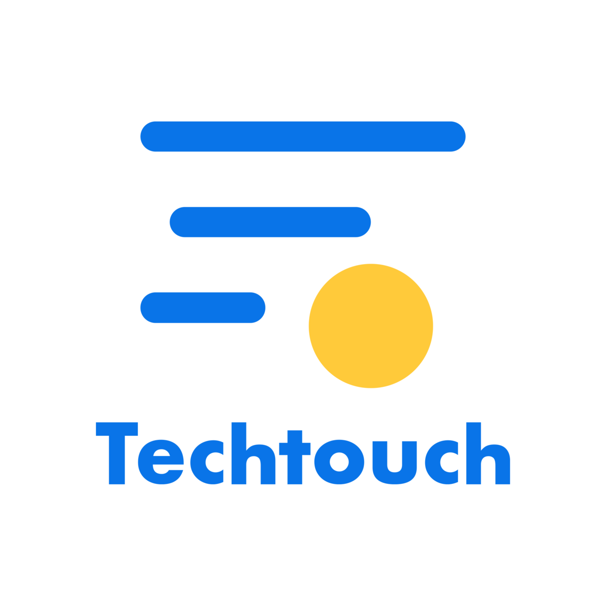 二代目のテックタッチロゴ