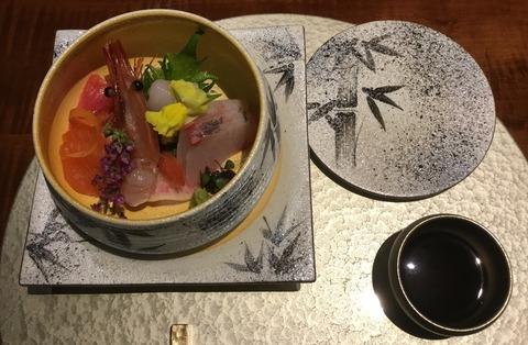 熟年夫婦竹泉荘夕食3