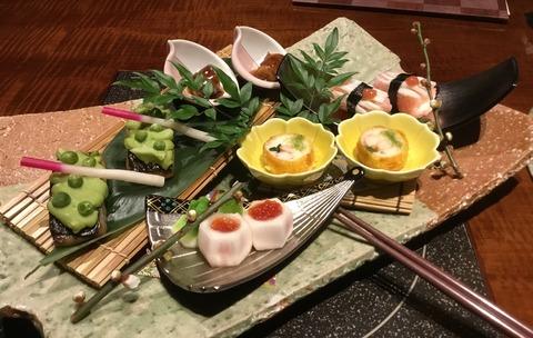 熟年夫婦竹泉荘夕食4