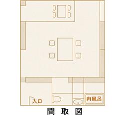 熟年夫婦佳松亭間取図-2-2