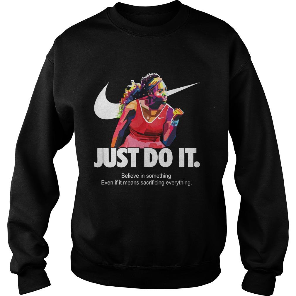 5e0cbf010211 Pretty) Nike Just Do It Serena Williams shirt - teepublic123321 s diary