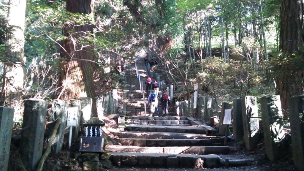 一合目の階段