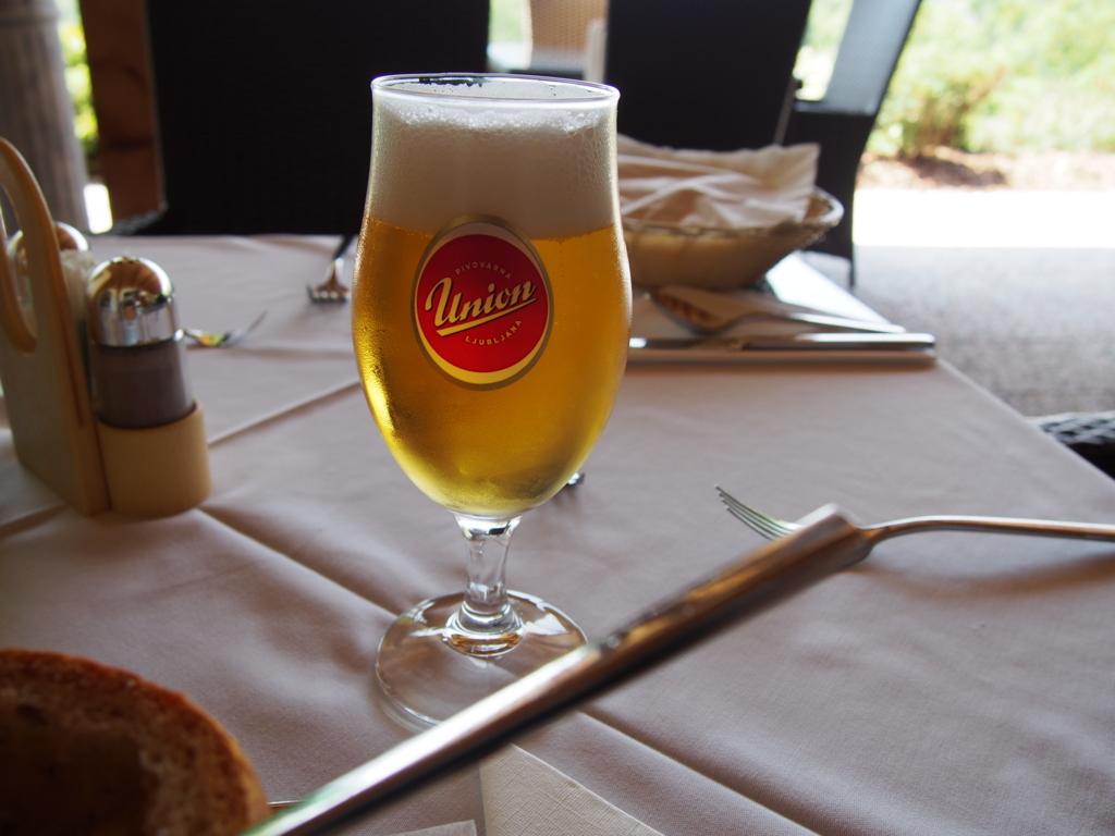 スロベニアで飲んだピルスナー