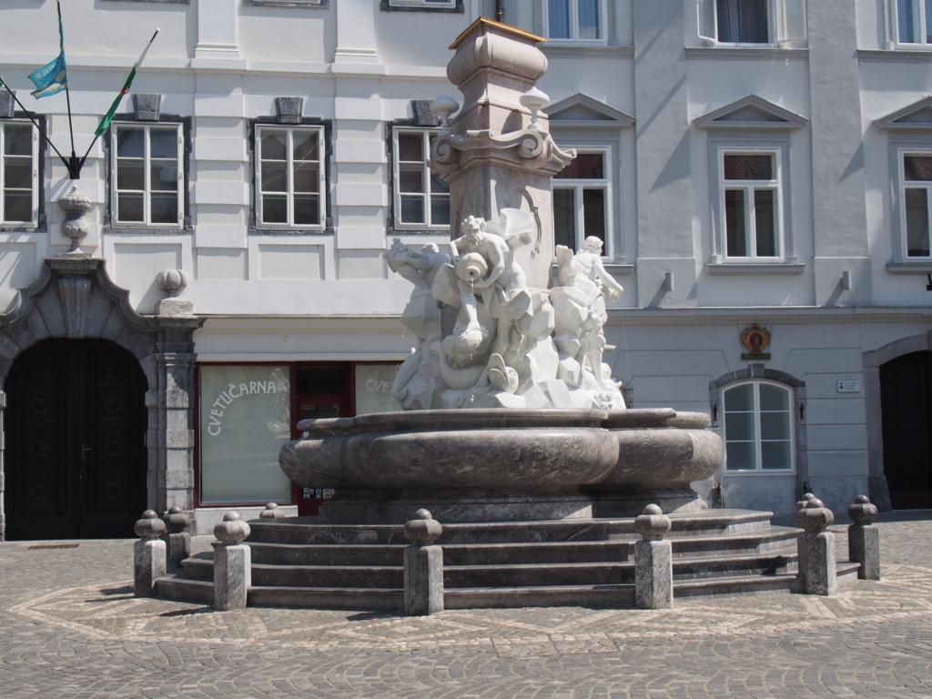 リュブリアーナの噴水