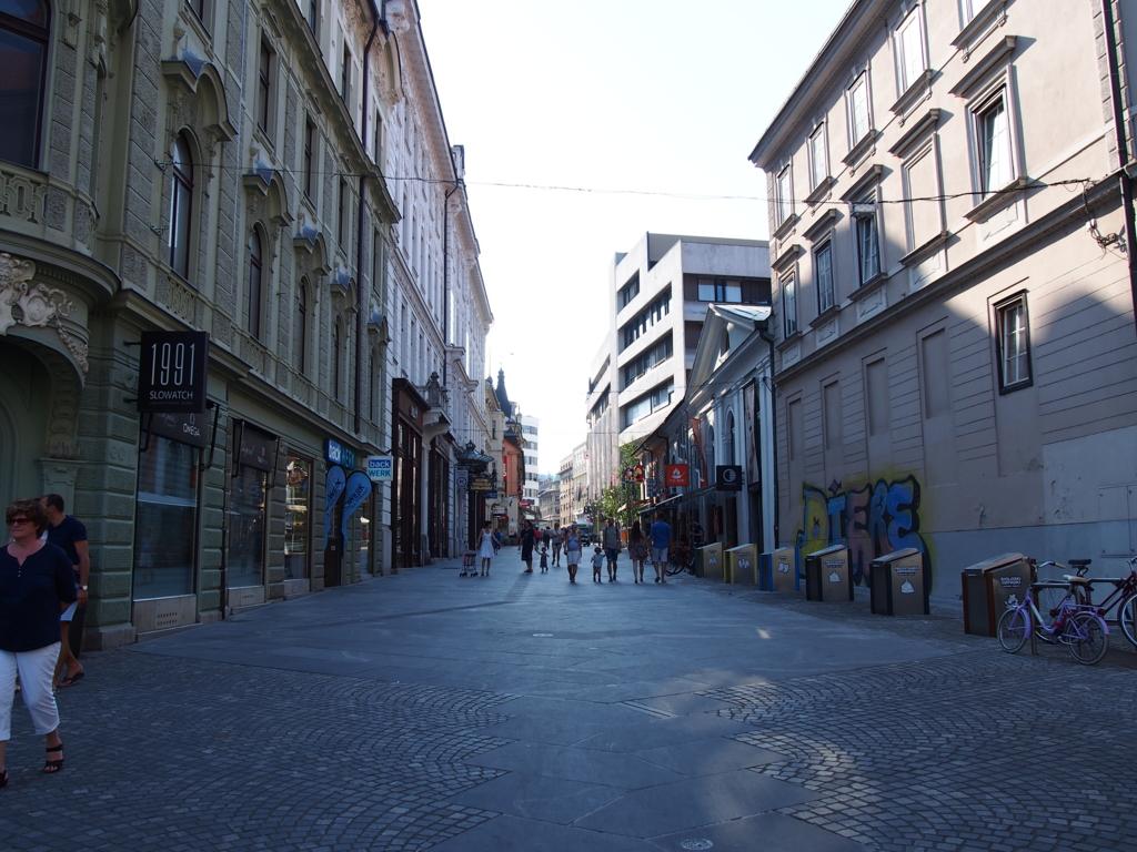 リュブリアーナのストリート