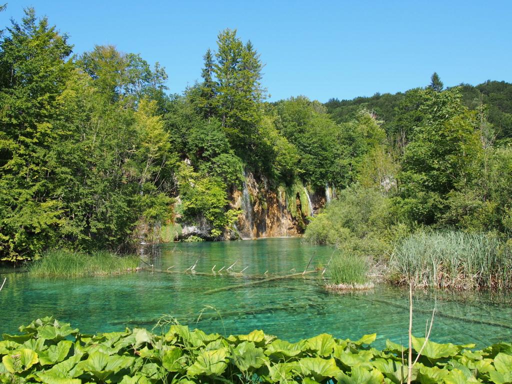 プリトヴィッツェ湖群国立公園の美しい湖