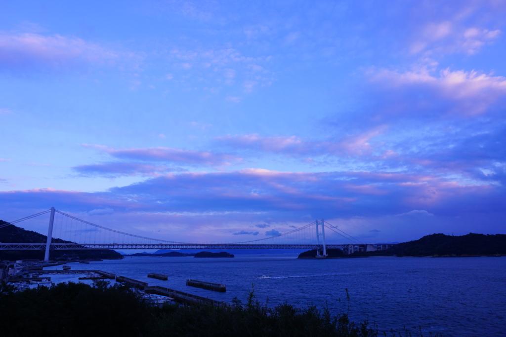 瀬戸大橋の見える遠景