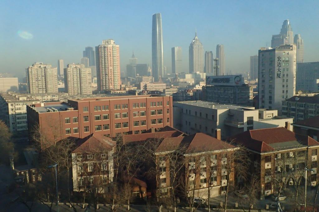 天津市の一望