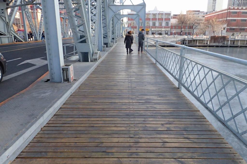 天津の解放橋