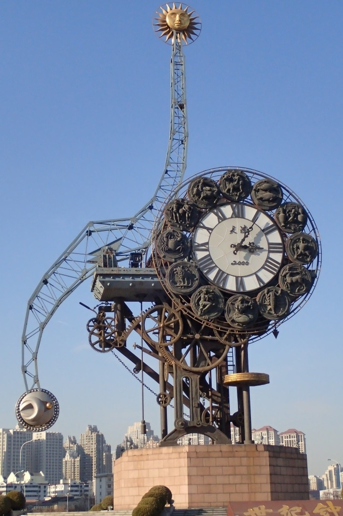 天津の時計台