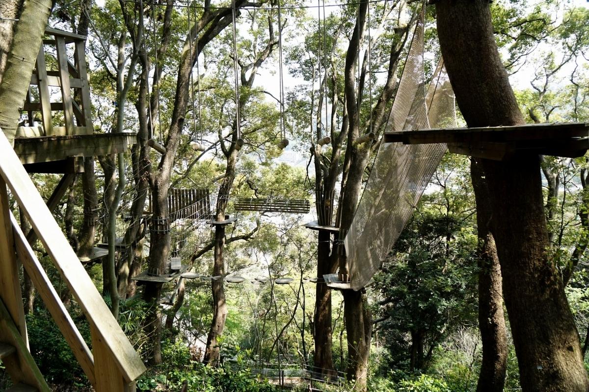 リゾナーレ熱海森の空中基地くすくす