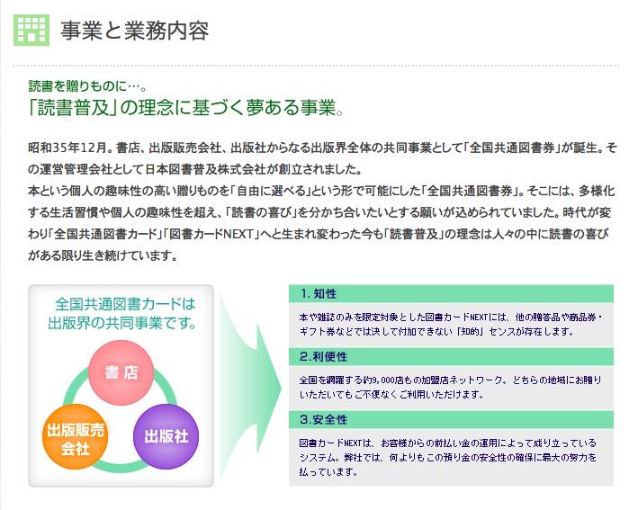 日本図書普及株式会社の事業内容