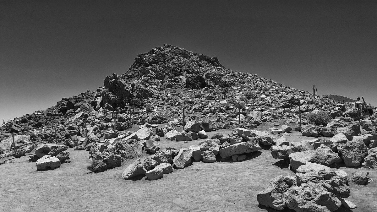 ガレキの山